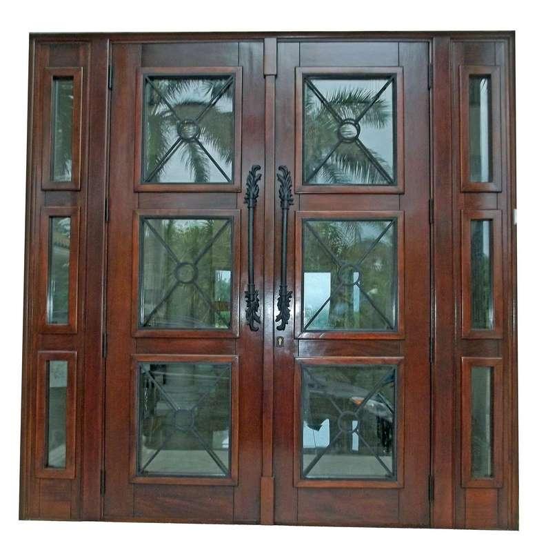 Superb Boca Chica Key Mahogany Exterior Doors