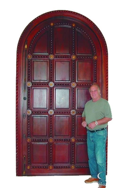 Boca Raton Mahogany Carved Doors Sabana Windows