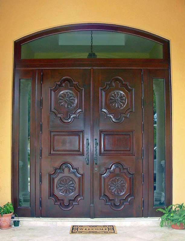 Coco Plum Mahogany Entry Doors Sabana Windows