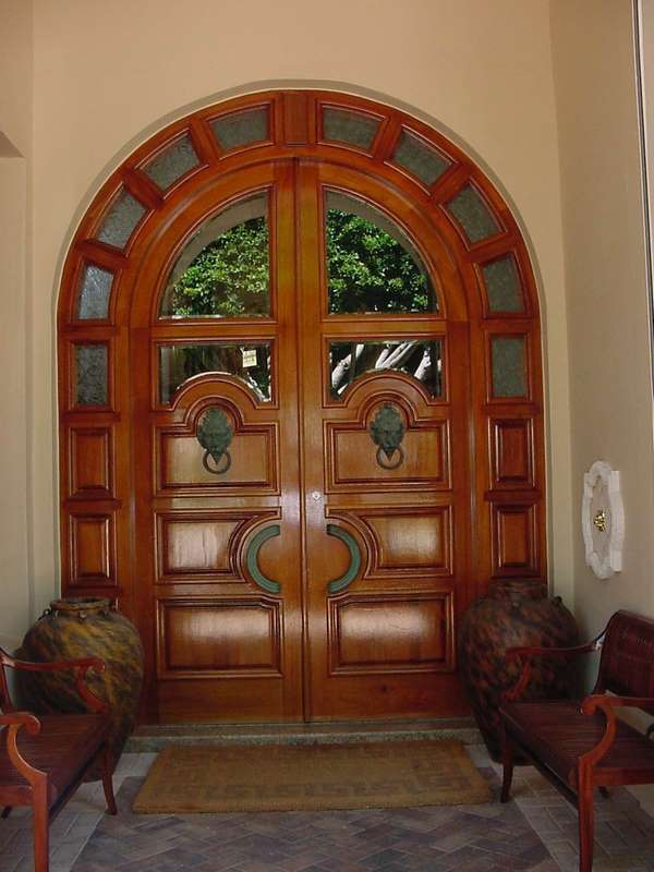 Lighthouse Point Mahogany Front Door