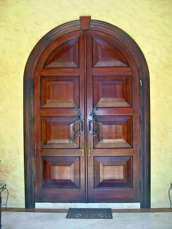 Margate Mahogany Entry Doors Sabana Windows