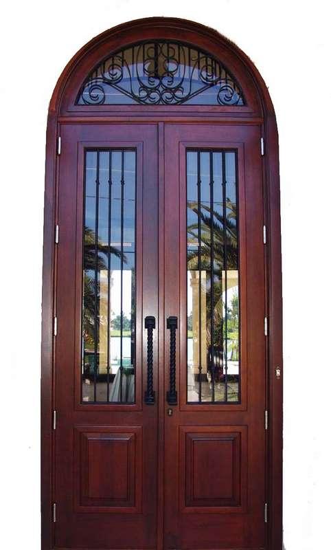 North Miami Mahogany French Doors Sabana Windows