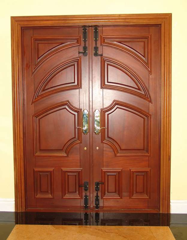 Oakland Park Mahogany Entry Doors