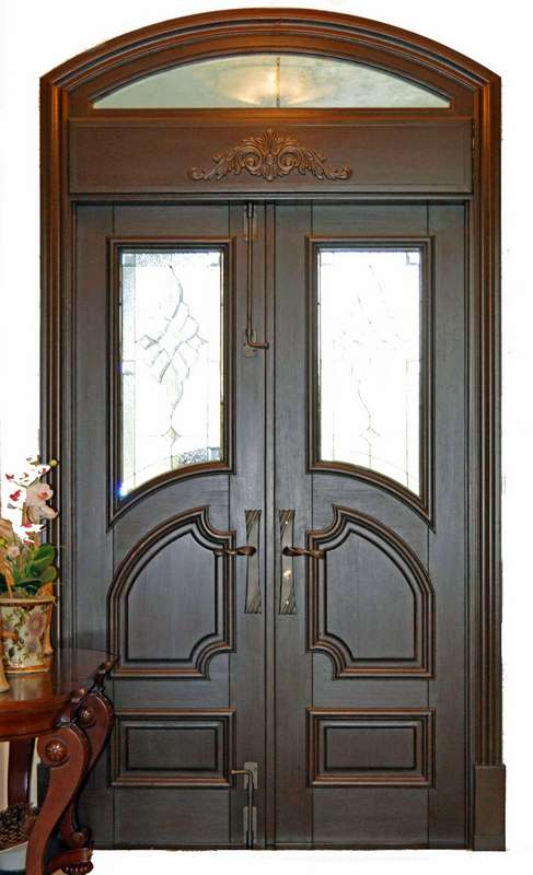 Palm Beach Mahogany Entry Door