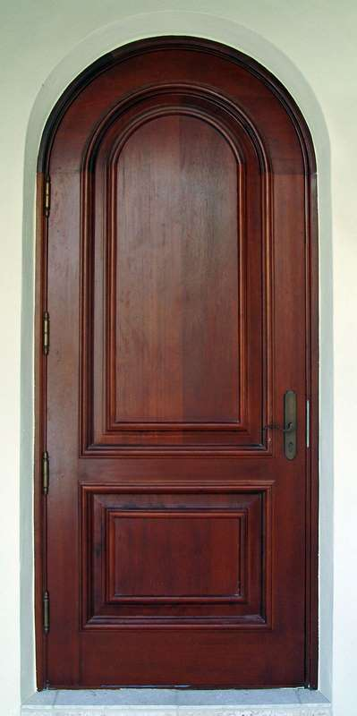 South Beach Mahogany Entry Door Sabana Windows