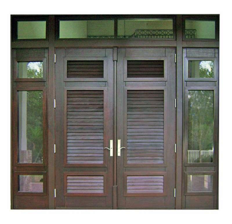 Tavernier Key Mahogany Shuttered Door  sc 1 st  Sabana Windows & Tavernier Key Mahogany Shuttered Door - Sabana Windows