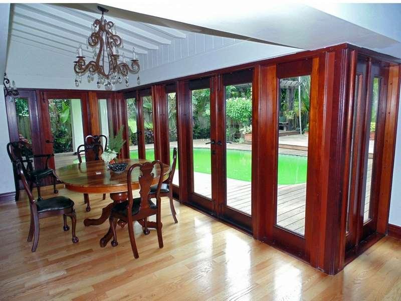 Pinecrest mahogany french doors sabana windows for Mahogany french doors