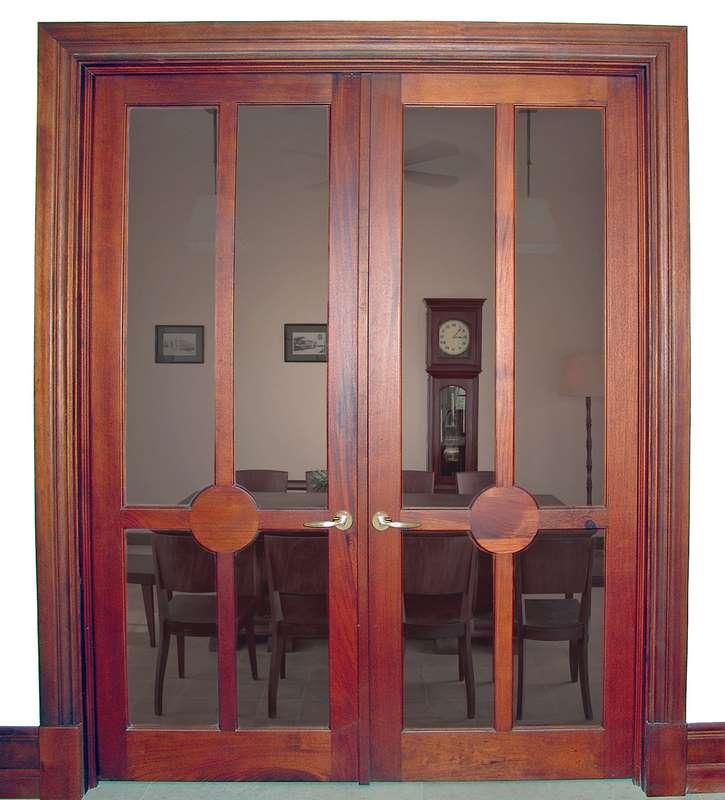 South Miami Mahogany French Doors Sabana Windows
