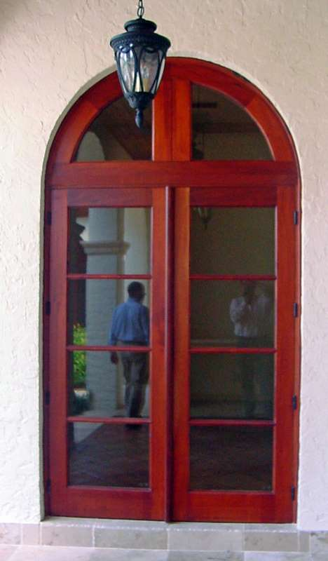 West Palm Beach Mahogany French Door Sabana Windows