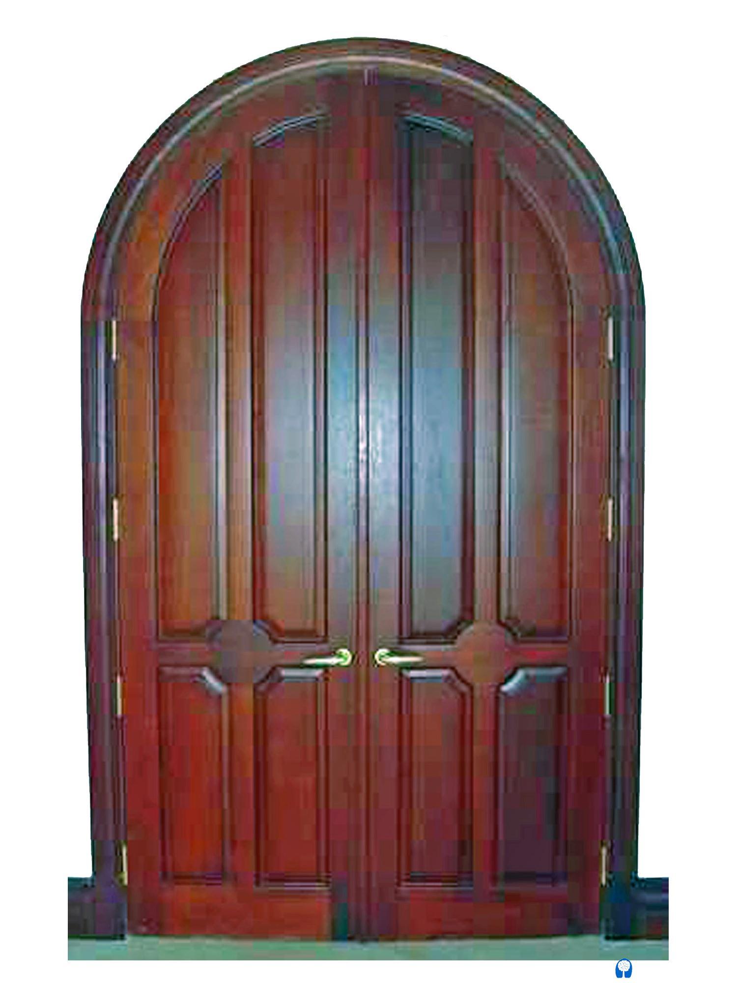 BAL HARBOUR MAHOGANY ARCH DOOR.  sc 1 st  Sabana Windows & BAL HARBOUR MAHOGANY ARCH DOOR. - Sabana Windows