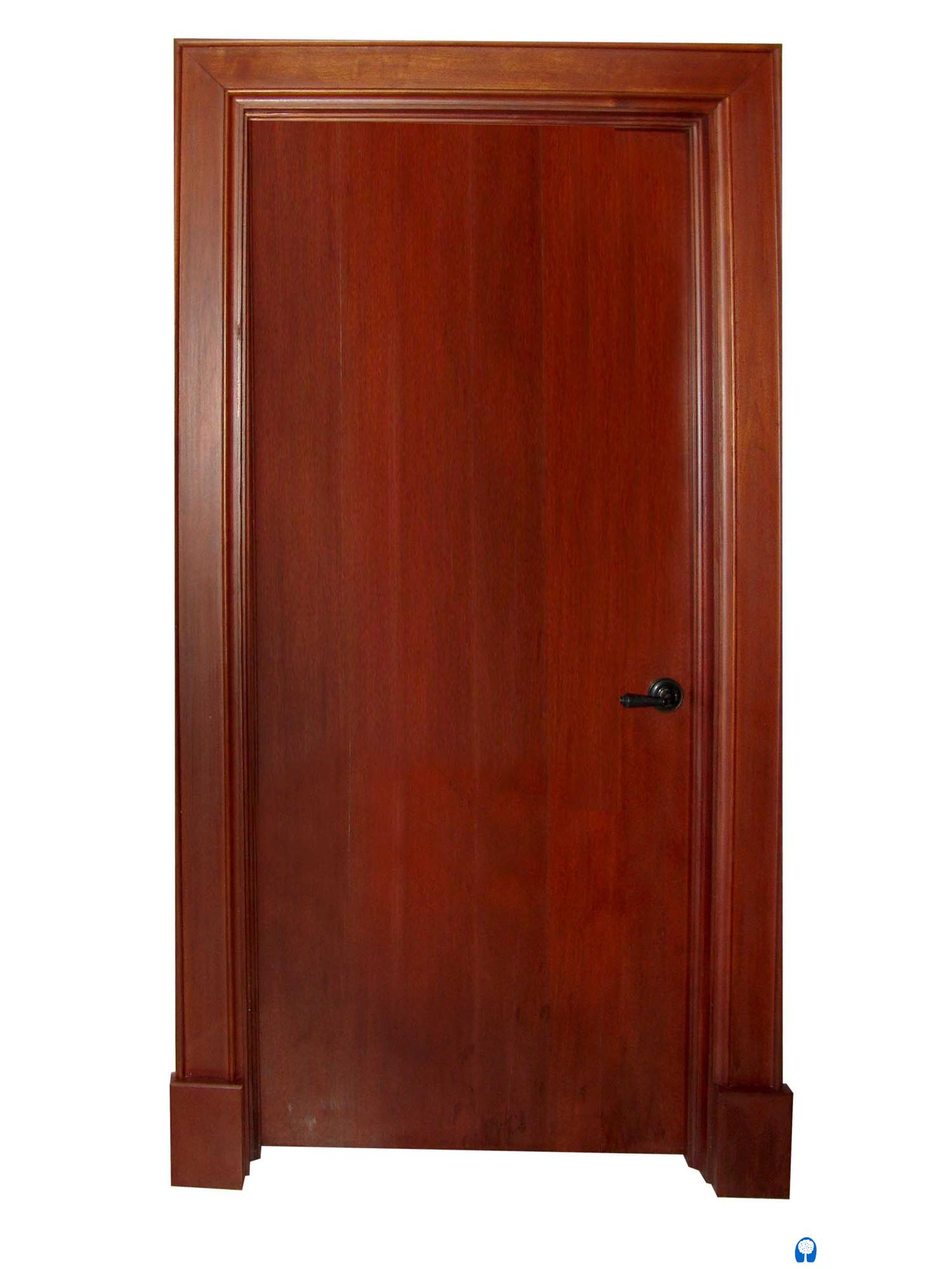 Flush mahogany mahogany interior doors sabana windows for Mahogany interior doors