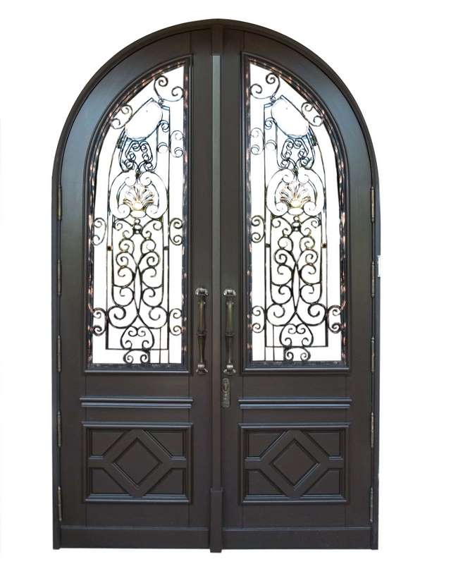 Bal Harbour Mahogany Grilled Doors  sc 1 st  Sabana Windows & Bal Harbour Mahogany Grilled Doors - Sabana Windows