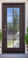 key largo single iron door
