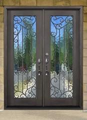 lakeland double iron door
