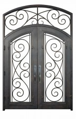 milano iron doors