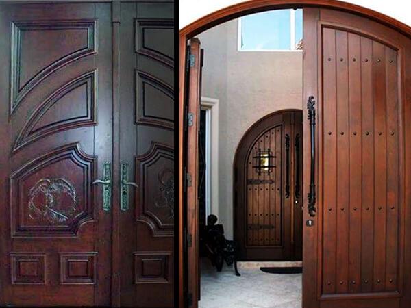 Mahogany Entry Doors