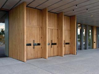 Museum Entrance Doors