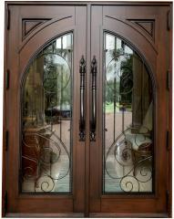 Berle Mahogany Entry Door