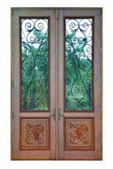 CORAL REEF MAHOGANY GRILL DOORS